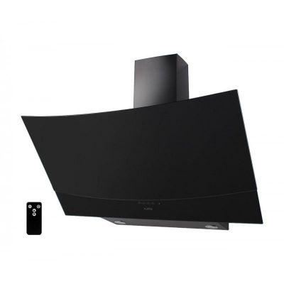 Вытяжка наклонная Ventolux WAVE 90 BK (1000) TRC IT