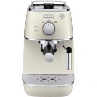 Рожковая кофеварка эспрессо Delonghi Distinta ECI 341.W